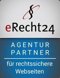 eRecht24-Siegel für Partner-Agenturen