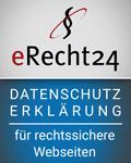 erecht24 - datenschutzerklärung