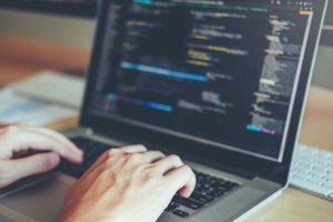 Web-Developer beim Website entwickeln